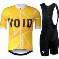 2021 새로운 void pro 팀 사이클링 저지 슈트 여름 통기성 자전거 의류 세트 남자 레이싱 자전거 옷 mtb ropa ciclismo y21030605