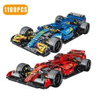Teknik Uzman Süper Hız Şampiyonlar Araba Yapı Taşları F1 Yarış Araç Modeli Tuğla Oyuncaklar Doğum Günü Hediyesi Erkek Arkadaşı J1204 Için