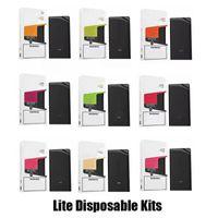 Lite Disable Cigarros Kit de Dispositivos de 550mAh Vape 900 Puff Pré-preenchido Pré-preenchido 3ml POD Cartucho para Alphaa Onee Plus XXL Max Flow
