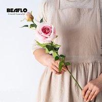 Декоративные Цветы Венки 69см Искусственный Шелковый Роза Свадебный Цветок Поддельные Организация Для Домашнего Сада Украшение 5 Цветов