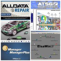 2021 고품질 AllData 10.53 및 OD5 소프트웨어 Autodata 3.38 + 모든 데이터 + MIT..D 2015 + Elsawin + Vivid + ATSG 24에서 1TB HDD USB3.0
