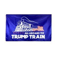 Nova Chegada Bandeira 90 * 150cm Banners Tropas para Trump 11 Tipos Manter América Grandes Bandeiras 2020 Atacado 5cd G2