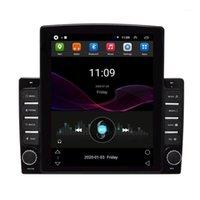 Auto GPS-Zubehör Navigation Touchscreen SAT NAV-freie Karte 10.1 Zoll Android 8.1 2 GB + 32 GB 1080P Stereo-Radio mit Button1