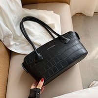 2021 Simple Small PU Leather Bags for Women 2021 Winter Luxu...