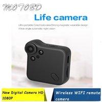 Cámaras de visión trasera Cámaras Sensores de estacionamiento C1S Mini Wifi Cámara 1080P HD Digital Video inalámbrico Voice P2P Cámara web Recorder Sensor de movimiento Magnético