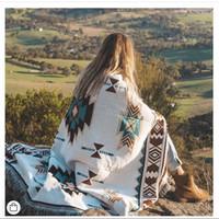 Camping outdoor decke bohemia baumwolle werbe decke sofa abdeckung 7 größe camping schaldecke gute qualität