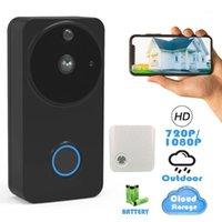 Video-Door-Telefone CTVMAN 1080P / 720P Outdoor drahtloses Wifi-Smart-Türklingel-Kamera IP-Intercom-Telefon-Glocke wasserdichte Sicherheit Türphone1