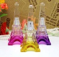 100 adet Benzersiz Kule Sprey Şişesi 30 ML Boş Doldurulabilir Parfüm Sprey Atomizer Cam Şişeler Fashion1