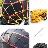 Organisateur de voiture 30 * cm Moto 6 crochet tenant le réservoir de carburant Bagage net corde de cordes de cordes de cordes DIVERS Porte-casques Moto Accesso1