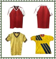 1988 1990 Arsen Merson Tony Adams Thomas Retro Fútbol Jersey Rockle Dixon Campbell Smith Limpar 86 88 Vintage Football Shirt