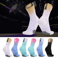 Nuevos calcetines de élite Hombres Calcetines de baloncesto para hombres Toalla Profesional Parte inferior Entrenamiento transpirable Correr Fútbol Calcetines deportivos Mujeres de alta calidad
