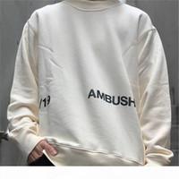 Pusu Yüksek Kaliteli Ceket Erkekler Kadınlar 1: 1 Kazak Streetwear Pusu Tişörtü T200219