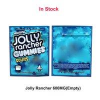 En stock Jolly Rancher Gummies Edibles Packaging Candy aigre-enthousiaste 600 mg Vide Cali Packs Chewy Odeur Vease 420 Sacs mylar Sacs Sèche Herbe