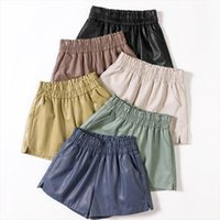 Short Women PU Leather Shorts Autumn Winter Fashion Woman Sh...