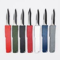 8 modelli Mini Key Fibbia Coltello tascabile in alluminio doppia azione tattico autodifesa pieghevole EDC coltello da campeggio coltello tascabile strumento 05356