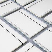 المفكرة maotu شفافة غلاف 5 a6 الأسلاك دوامة دفتر اليوميات مذكرات الموثق دوت الشبكة مجلة كراسة مكتب المدرسة