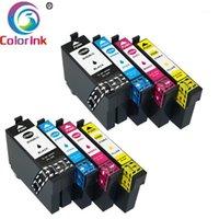 Coloink per cartuccia d'inchiostro 702xl T702XL 702 XL T702 Workforce Pro WF-3720 WF-3725 DWF Printer1 Cartucce