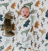 Um bebê de bambu 70% Swaddle Baby Muslin Cobertor Qualidade melhor do que Aden Anais Baby Multi-usa Grande Fralda Blanket Infantil