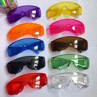 Mode Schutzbrille Anti-Nebel Staubdichte Brille Brillen Unisex Eye Glas Transparente Outdoor Splash Proof-Schlag Sicherheitsgläsern 2020