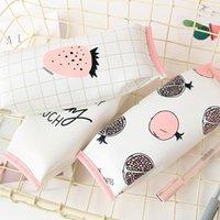 8pcs Kawaii 과일 스타일 학교 연필 케이스 아이들 선물 귀여운 펜 가방 상자 편지지 주머니 주최자 사무 용품 도매 1
