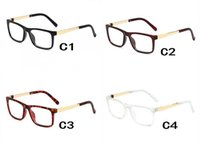 새로운 8050 스퀘어 프레임 선글라스 클리어 렌즈 안경 패션 레트로 oculos de sol 남자 여성 브랜드 아이 안경