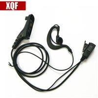 Walkie Talkie XQF Hang Hang Ohrhörer PearPhone Headset Überwachung Mikrofon für Motorola XIR P8268 / P8260 / 8600/8200 / DP3400 / XPR6550 Radio
