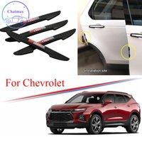 3 Cores Universal para Chevrolet Series Cruze Malibu Explorer SS 4 PCS PVC Carro Anti-Colisão Faixa De Carro De Porta Do Carro De Pouso Strip