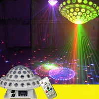 360 gradi Rotary Magic Ball LED LED Light Light DMX512 Telecomando Family Family Bar DJ Fase Effetto luminoso per KTV