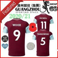20 21 Futbol Formaları Eve Uzakta McNeil 11 100 Yıl Kahramanlar Tarkowski 5 Ahşap 9 Barnes 10 Rodriguez 19 2020 Jersey Futbol Gömlek
