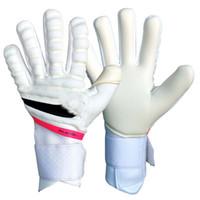 2021 Новый дизайн Профессиональный Футбол Воротарь Главы Латекс без защиты от пальцев Детские взрослые футбольные вратарь перчатки