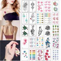 500+ adesivi tatuaggi DesignTemporary Tattoo Impermeabile Body Art Donne e uomini Tatuaggio Adesivi per tatuaggi Moda Adesivi per il tatuaggio Salute Prodotto di bellezza BF301