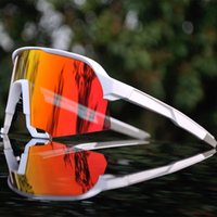 Nuovo 2020 Brand S3 Mountain Bike Bike Bicicletta Bicicletta Sport all'aperto Occhiali da ciclismo Goggglie TR90 Peter Men Cycling Eyewear Sunglasses 3 Lenti