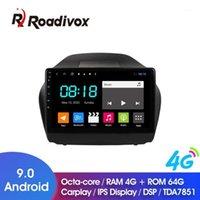 """Auto Video 9 """"Android 9.0 Octa Core GPS DVD Lettore DVD per IX35 2021 Radio Multimedia Head Unit Navigation1"""