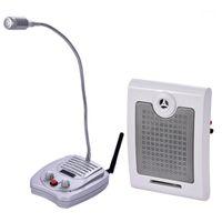Dual-way Window Interphone Microfono Microfono Talk-Back System Bank Counter Contanti Contanti Finestra Intercom System 220 V YX-1181