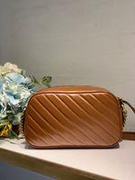 Marmont Classic Stlye 카메라 가방 Marmont 핸드백 지갑 여성 단일 어깨 가방 작은 가방 메신저 가방 벨트 크로스 보이 가방 가죽