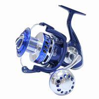 K8356 Toutes les rouleaux de pêche en métal 4.7: 1 4000-8000 30kg Puissance Drag Sel Saltitig