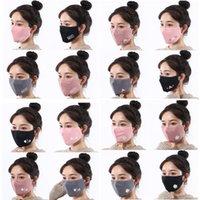 mascarilla 2021 máscara tridimensional 3D otoño e invierno damas al aire libre a prueba de viento calidez adulto decorativo decorativo mascarillas de dibujos animados hembra