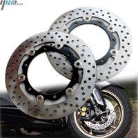 Freins de moto Frein avant Discot de frein arrière Rotor Stainles Steel Fit pour Tmax530 XP530 T Max T-Max Tmax 530 XP 2012 2013 20141