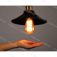 천장 조명 매달려 램프 미국 국가 창의력 산업 AC85-265V E27 복도 발코니 도어 DHL 용 알루미늄 합금 실내 조명