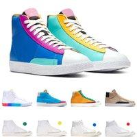 Blazer 77 Erkek Kadın Koşu Ayakkabıları İyi Bir Oyun Vintage Çok Renkli Hack Paketi Erkek Eğitmen Spor Ayakkabı Sneakers