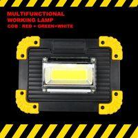 Linterna portátil LED LED Tienda de advertencia Tienda de campaña COB Spotlight USB Ficha de búsqueda para reparaciones de camping al aire libre1