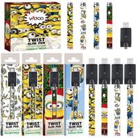 COSO Voorverwarmen batterij 380mAh variabele spanning 3.3-3.8-4.3-4.8V vape pen batterij voor vape cartridges 510 draad batterij gratis verzending