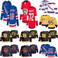 2019 Hockey Jerseys Nashville Predars 95 Matt Duchene Florida Panthers 72 Sergei Bobrovsky New York Rangers 45 Kaapo Kakko Jerseys hockey