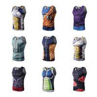 Erkek Yaz Tankı Tops 3D Baskı Nefes Örgü Patchwork Yelek Spor Erkekler Kolsuz Tee Gömlek Vücut Geliştirme Marka Giyim Toptan