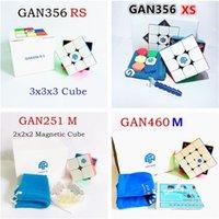 GAN 356 XS 2x2 3x3 4x4 Pyramid Cube magnético GAN RS 460M 251M Puzzle Juego profesional para adultos Niños Antistress Speed Cube 201219