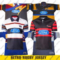 Retro Jersey New Z Club Super Rugby Jersey Hurricanes Crusaders Blues Highlanders Rugby Camisa Camisa S-5XL