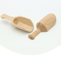Mini Tahta Kaşık Banyo Tuz Baharat Tozu Çay Yaprakları Kahve Çekirdeği Ölçme Scoop Mutfak Gadgets Kepçe Sıcak Satış 1 16QB G2