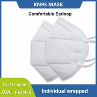 DHL Бесплатная доставка анти пыль лицо рот KN95 моющиеся модные маски фильтр 95% KN 95 противотуманный дымчатый защитный одноразовые маски