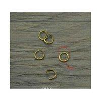 600 PC 오픈 점프 링 청동 / 금 / 실버 / 빈티지 실버 금속 커넥터 DIY Jewelry Maki Jlleoz YY_DHHOME