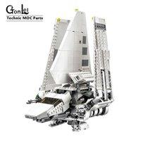 Yeni Uzay Oyuncaklar Savaşları Serisi Imperial Shuttle Tydirium-05057 MOC Yapı Taşları Tuğla Monte DIY Oyuncaklar Çocuklar Için C1118